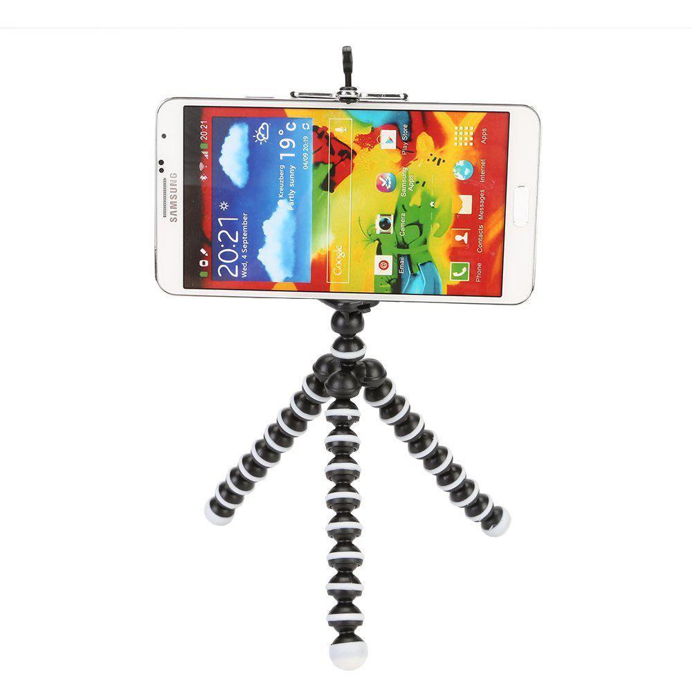 Гибкий штатив S, резьба 1/4 до 325г для фотоаппарата, смартфона и экше