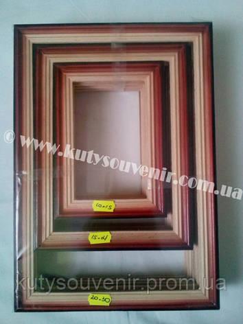 Фото рамка деревянная, фото 2