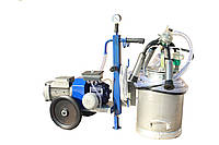 Доильный аппарат для коров new АИД-1Р масляный, стаканы нержавейка, Доильное оборудование в Украине