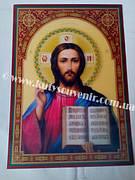 Икона 3D Иисуса Христа