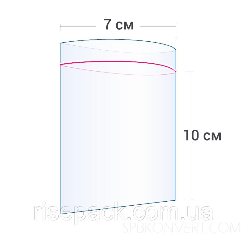 Пакеты Zip-Lock 7х10 см для упаковки и фасовки