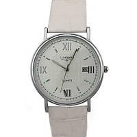 Стильные часы Longines Silver White реплика
