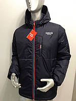 Мужская куртка Reebok полубатал копия, мужские куртки оптом