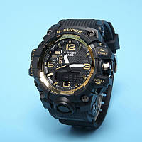 Спортивные наручные часы Casio G-Shock GWG-1000 Black Gold Касио реплика