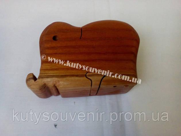 Шкатулка-головоломка слоник., фото 2