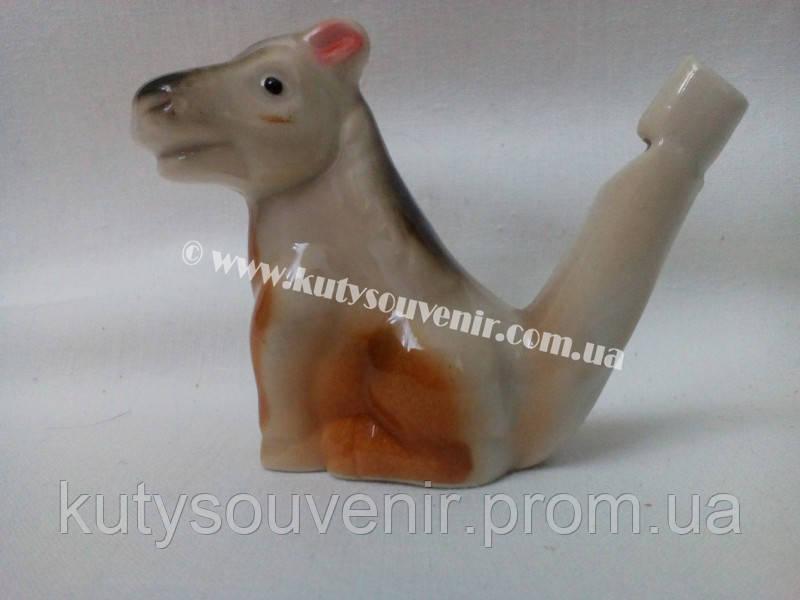 Керамический свисток корова