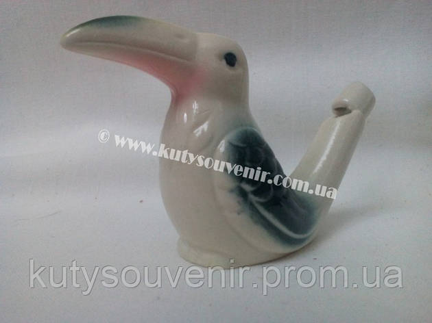 Керамический свисток пеликан, фото 2