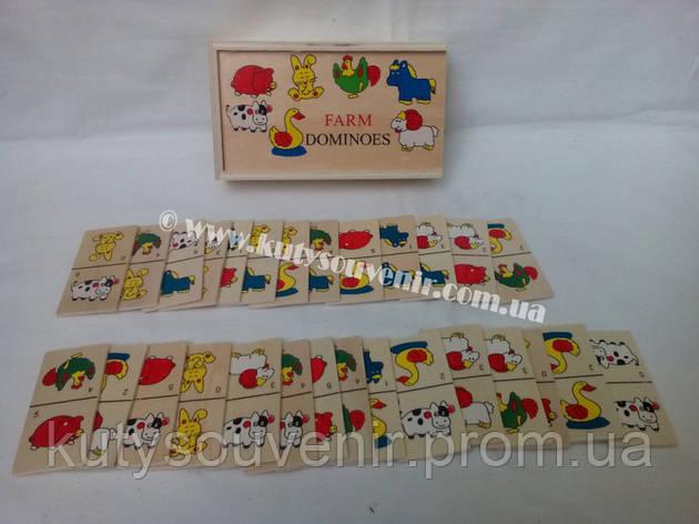 Настольная игра домино детская, фото 2