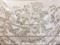 Простынь махровая ТМ Речицкий текстиль (Белоруссия), Бабочки хлопок/лен 208х150 см