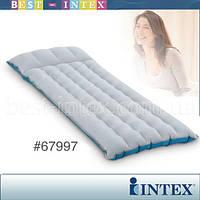 Intex 67997 (67x184x17 см.) Кемпинговый надувной матрас