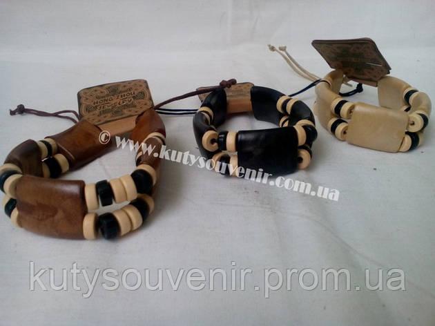 Деревянный браслет, фото 2