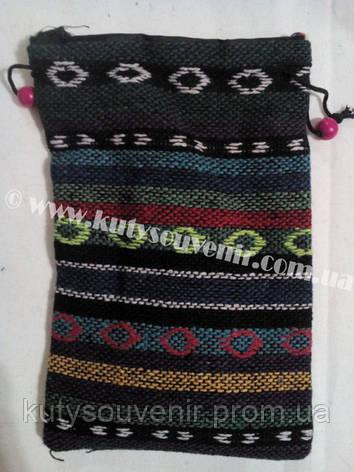 Тканая сумочка для телефона и документов на шею., фото 2