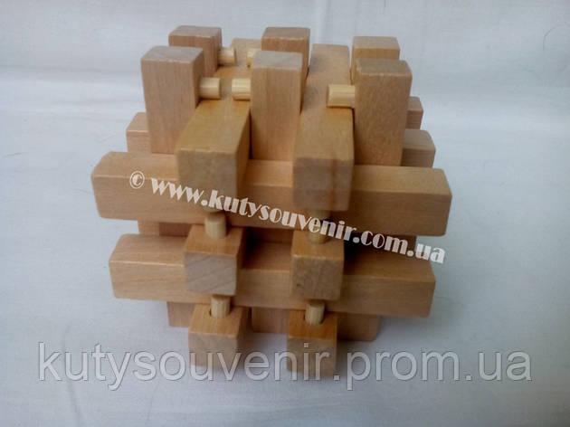 Головоломка деревянная с 18 брусков, фото 2