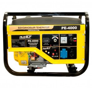 Бензогенератор RUCELF PE-4000-E