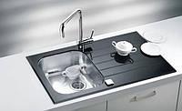 Кухонная мойка Alveus Glassix 10 black I 86*50