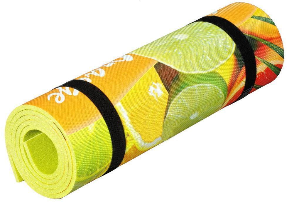 Коврик Polifoam (Полифом) с декоративной пленкой ORANGE 7 мм
