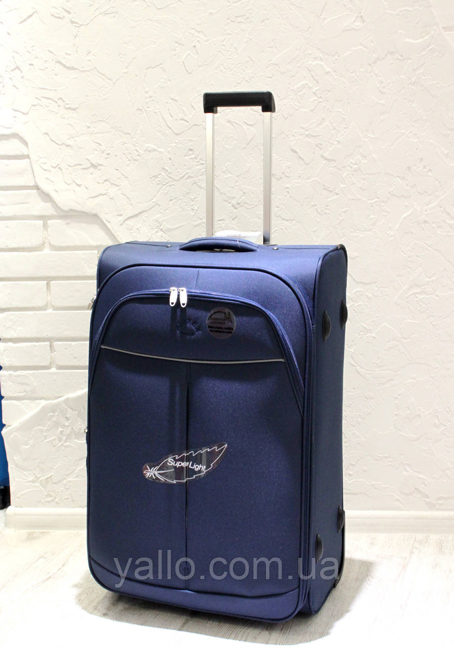 Чемодан Супер легкий AIRTEX PARIS большой REF 2897 Blue