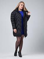 Черная куртка пуховик CLASNA без меха CW16D-073DL 50, 52 размер