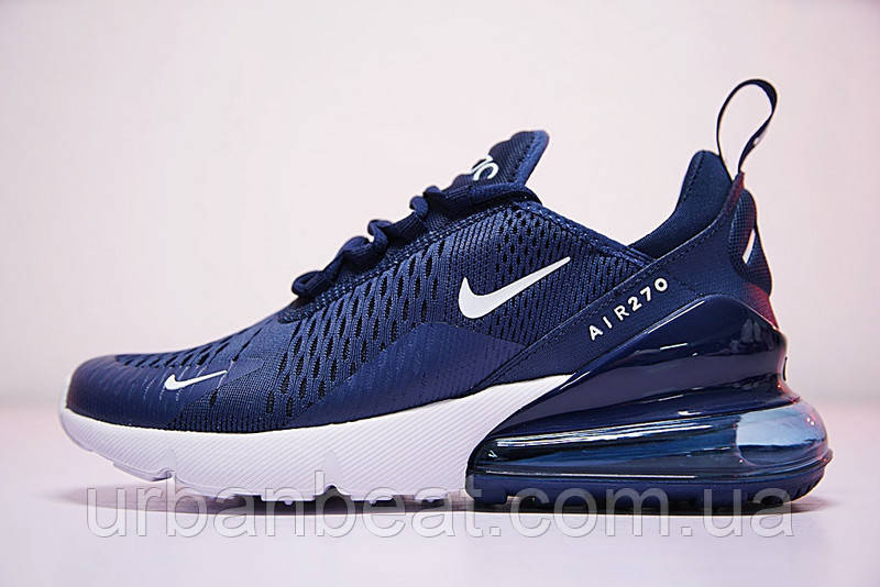 Мужские кроссовки Nike Air Max 270 Flyknit Blue   продажа, цена в ... 4dda197e682