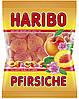 Желейные конфеты Персики Харибо Haribo Харібо 200гр.