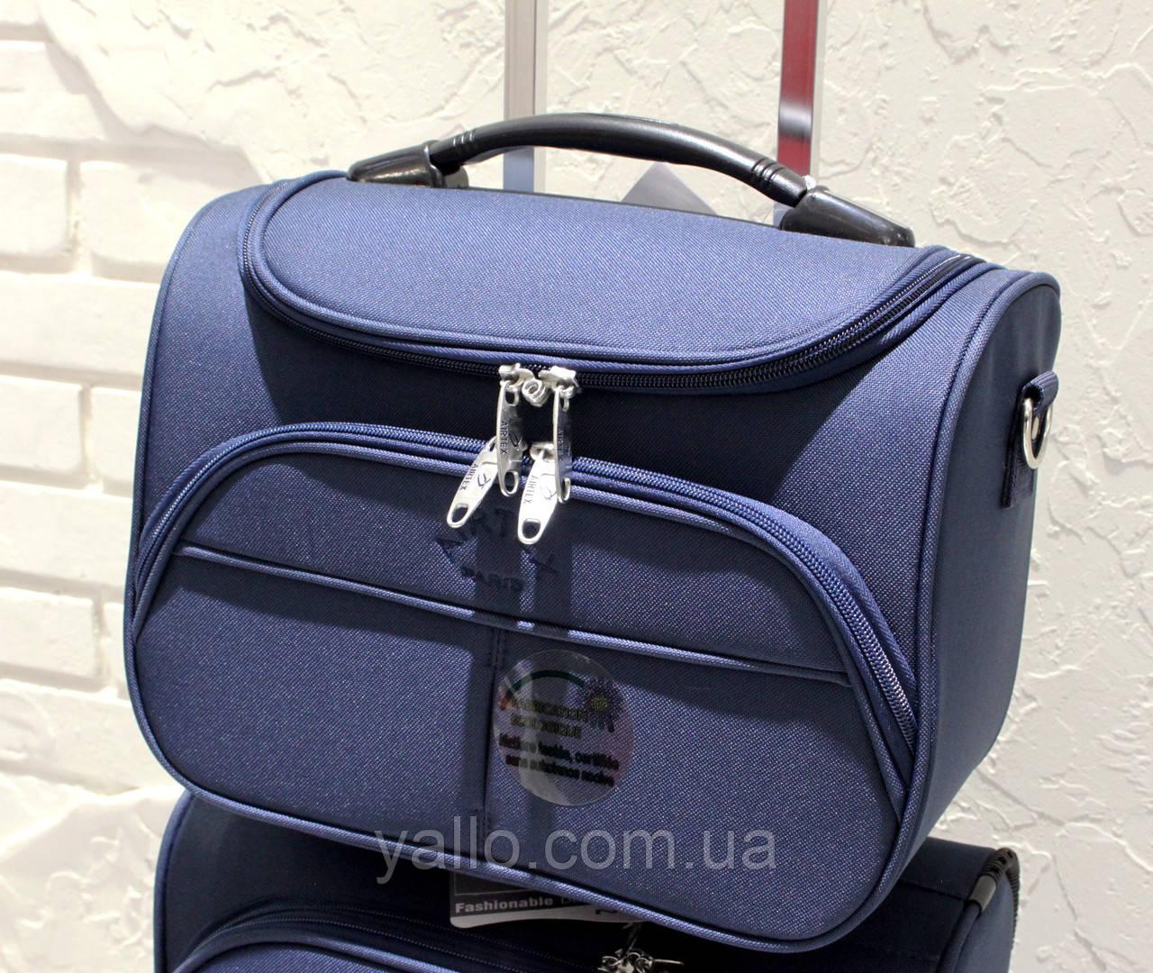 Бьюти-кейс (сумка на чемодан, косметичка) AIRTEX 2897 Blue
