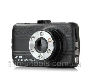 Відеореєстратор T 660, FULL HD, метал