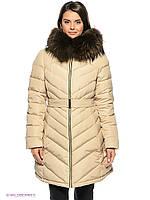 ПУХОВИК куртка Snowimage c натуральным мехом Q392 L, 46 размер