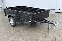 Усиленный прицеп автомобильный легковой одноосный  АМС-750 Старконь 250 см * 150 см 750 кг