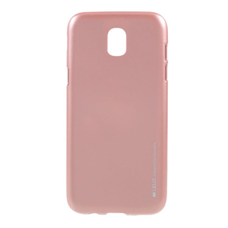 Чохол для телефону Mercury iJelly Metal Samsung series J530 Galaxy J5 (2017) (Rose Gold)