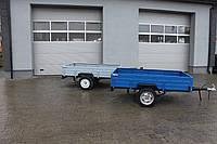 Усиленный прицеп автомобильный легковой одноосный АМС-650 Старконь 230 см * 135 см 650 кг