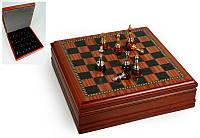 """Игра настольная """"Шахматы деревянные"""" 31х31х9 см."""