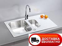 Кухонная мойка Alveus Glassix 20 white I 86*50, фото 1