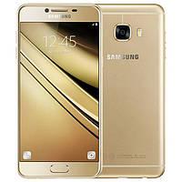 """Смартфон Samsung Galaxy С5 C5000 Gold, 4/32Gb, 8 ядер, 16/8Мп, 5.2"""", 2 sim, 4G, 2600mAh., фото 1"""