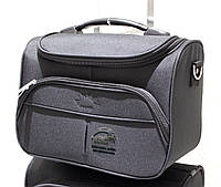 Бьюти-кейс (сумка на чемодан, косметичка) AIRTEX 2897 Black
