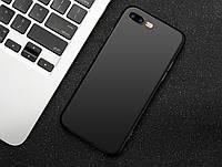 Силиконовый TPU чехол JOY для Apple iPhone 7 Plus черный