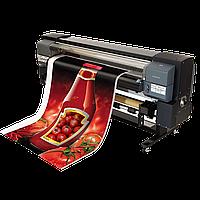 Широкоформатная печать, печать на баннере, печать на пленке