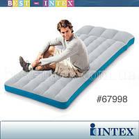 Intex 67998 (72x189x20 см) Кемпинговый надувной матрас