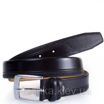 Мужской кожаный ремень y.s.k. shi1038-1 черный