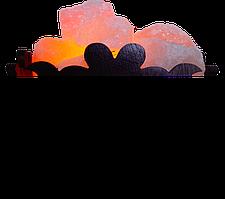 Соляной светильник, Корзина № 10, Вес 4кг; Размеры: 18*18*13,см