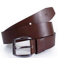 Мужской кожаный ремень y.s.k. shi5-2090-2 коричневый