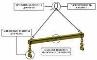 Траверса Линейная для Рельс тип 9