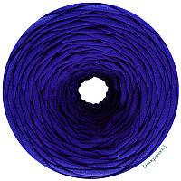 Пряжа трикотажная Pastel XL, цвет Королевский синий (85 м)