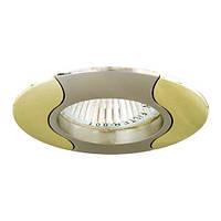 Точечный декоративный светильник Feron 020Т.MR16 Титан золото