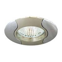Точечный декоративный светильник Feron 020Т.MR16 Титан хром