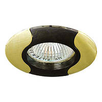 Точечный декоративный светильник Feron 020Т.MR16 Черный золото