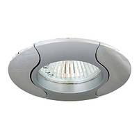 Точечный декоративный светильник Feron 020Т.MR16 Серый хром