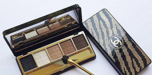 Chanel тени 5 цветов, фото 2