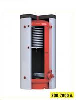 Теплоаккумулятори (буферні ємності) для опалювальних систем з верхнім теплообмінником Kronas (Кронас) 2000 л, фото 1