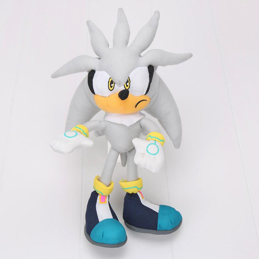 Игрушка соник ёж Сильвер (Super Sonic)
