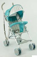 Коляска - трость прогулочная детская TM Joy голубая арт. 108